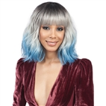 Glamourtress, wigs, weaves, braids, half wigs, full cap, hair, lace front, hair extension, nicki minaj style, Brazilian hair, crochet, hairdo, wig tape, remy hair, Lace Front Wigs, Remy Hair, Bobbi Boss Synthetic Hair Wig - M686 ZENDAYA BANG