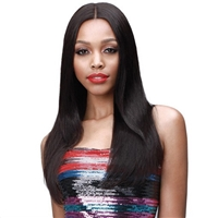Glamourtress, wigs, weaves, braids, half wigs, full cap, hair, lace front, hair extension, nicki minaj style, Brazilian hair, crochet, hairdo, wig tape, remy hair, Lace Front Wigs, Bobbi Boss Unprocessed Virgin Remi Lace Front Wig - MHLF308 EUDORA