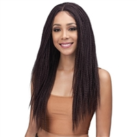 Glamourtress, wigs, weaves, braids, half wigs, full cap, hair, lace front, hair extension, nicki minaj style, Brazilian hair, crochet, hairdo, wig tape, remy hair, Lace Front Wigs, Bobbi Boss Synthetic Hair 4 inch Deep Part Lace Front Wig - MLF369 JENESSA