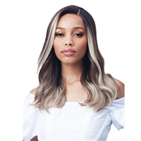Glamourtress, wigs, weaves, braids, half wigs, full cap, hair, lace front, hair extension, nicki minaj style, Brazilian hair, crochet, hairdo, wig tape, remy hair, Bobbi Boss MediFresh Synthetic Hair 13x4 HD Lace Wig - MLF235 CALANDRIA