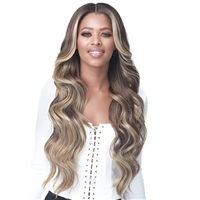 Glamourtress, wigs, weaves, braids, half wigs, full cap, hair, lace front, hair extension, nicki minaj style, Brazilian hair, crochet, hairdo, wig tape, remy hair, Bobbi Boss Synthetic Hair HD Lace Wig - MLF378 MACARIA