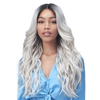 Glamourtress, wigs, weaves, braids, half wigs, full cap, hair, lace front, hair extension, nicki minaj style, Brazilian hair, crochet, hairdo, wig tape, remy hair, Bobbi Boss Synthetic Boss Lace Wig - MLF379 GARDENIA