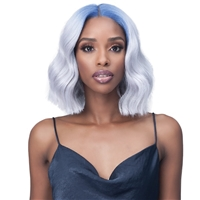 Glamourtress, wigs, weaves, braids, half wigs, full cap, hair, lace front, hair extension, nicki minaj style, Brazilian hair, crochet, hairdo, wig tape, remy hair, Bobbi Boss Synthetic Hair 4x4 HD Frontal Lace Wig - MLF443 LIONA