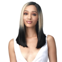 Glamourtress, wigs, weaves, braids, half wigs, full cap, hair, lace front, hair extension, nicki minaj style, Brazilian hair, crochet, hairdo, wig tape, remy hair, Bobbi Boss Synthetic Hair Lace Front Wig - MLF461 MAYAH
