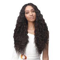 Glamourtress, wigs, weaves, braids, half wigs, full cap, hair, lace front, hair extension, nicki minaj style, Brazilian hair, crochet, hairdo, wig tape, remy hair, Bobbi Boss Synthetic Hair Lace Front Wig - MLF463 OLIVE