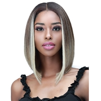 Glamourtress, wigs, weaves, braids, half wigs, full cap, hair, lace front, hair extension, nicki minaj style, Brazilian hair, crochet, hairdo, wig tape, remy hair, Bobbi Boss Synthetic Hair 13x5 HD Frontal Lace Wig - MLF470S CHERIE SHORT