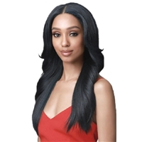 Glamourtress, wigs, weaves, braids, half wigs, full cap, hair, lace front, hair extension, nicki minaj style, Brazilian hair, crochet, hairdo, wig tape, remy hair, Bobbi Boss Synthetic Hair 13x5 HD Frontal Lace Wig - MLF471 DARCY