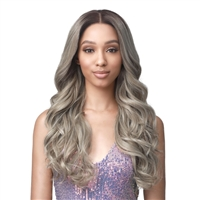 Glamourtress, wigs, weaves, braids, half wigs, full cap, hair, lace front, hair extension, nicki minaj style, Brazilian hair, crochet, hairdo, wig tape, remy hair, Bobbi Boss Synthetic Hair HD Frontal Lace Wig - MLF473 TAREN