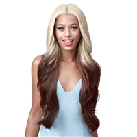 Glamourtress, wigs, weaves, braids, half wigs, full cap, hair, lace front, hair extension, nicki minaj style, Brazilian hair, crochet, hairdo, wig tape, remy hair, Bobbi Boss Synthetic Hair 13x7 HD Frontal Lace Wig - MLF476 KINNA