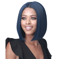 Glamourtress, wigs, weaves, braids, half wigs, full cap, hair, lace front, hair extension, nicki minaj style, Brazilian hair, crochet, hairdo, wig tape, remy hair, Bobbi Boss Synthetic Hair Lace Front Wig - MLF534 WILLENA