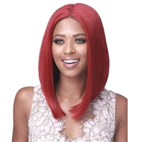 Glamourtress, wigs, weaves, braids, half wigs, full cap, hair, lace front, hair extension, nicki minaj style, Brazilian hair, crochet, hairdo, wig tape, remy hair, Bobbi Boss Synthetic Hair Lace Front Wig - MLF535 GENA