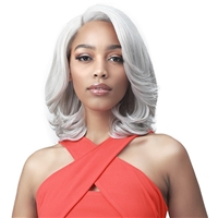 "Glamourtress, wigs, weaves, braids, half wigs, full cap, hair, lace front, hair extension, nicki minaj style, Brazilian hair, crochet, hairdo, wig tape, remy hair, Bobbi Boss Synthetic 4"" Deep Part Lace Front Wig - MLF556 BAILEY"
