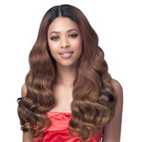 Glamourtress, wigs, weaves, braids, half wigs, full cap, hair, lace front, hair extension, nicki minaj style, Brazilian hair, crochet, hairdo, wig tape, remy hair, Bobbi Boss Synthetic Hair Lace Front Wig - MLF561 AMANDA