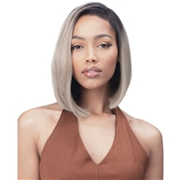 Glamourtress, wigs, weaves, braids, half wigs, full cap, hair, lace front, hair extension, nicki minaj style, Brazilian hair, crochet, hairdo, wig tape, remy hair, Bobbi Boss Synthetic 13X7 Deep Part Lace Front Wig - MLF600 GINA