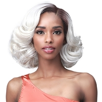 Glamourtress, wigs, weaves, braids, half wigs, full cap, hair, lace front, hair extension, nicki minaj style, Brazilian hair, crochet, hairdo, wig tape, remy hair, Bobbi Boss Synthetic Hair 13x5 HD Frontal Lace Wig - MLF671 MILO