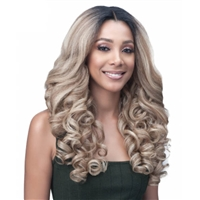 "Glamourtress, wigs, weaves, braids, half wigs, full cap, hair, lace front, hair extension, nicki minaj style, Brazilian hair, crochet, hairdo, wig tape, remy hair, Lace Front Wigs, Bobbi Boss Natural Kinky Blowout 4"" Deep Part - MLF314 ROXIE"