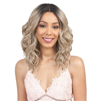 Glamourtress, wigs, weaves, braids, half wigs, full cap, hair, lace front, hair extension, nicki minaj style, Brazilian hair, crochet, hairdo, wig tape, remy hair, Lace Front Wigs, Bobbi Boss Synthetic Swiss Lace Front Wig - MLF315 MIRIAM