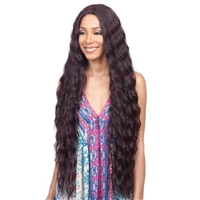 Glamourtress, wigs, weaves, braids, half wigs, full cap, hair, lace front, hair extension, nicki minaj style, Brazilian hair, crochet, hairdo, wig tape, remy hair, Lace Front Wigs, Bobbi Boss Synthetic Swiss Lace Front Wig - MLF357 INNIS