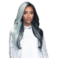 Glamourtress, wigs, weaves, braids, half wigs, full cap, hair, lace front, hair extension, nicki minaj style, Brazilian hair, crochet, hairdo, wig tape, remy hair, Lace Front Wigs, Bobbi Boss Synthetic 5 inch Deep Part Swiss Lace Front Wig MLF386 OPHELIA