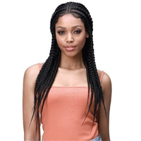 "Glamourtress, wigs, weaves, braids, half wigs, full cap, hair, lace front, hair extension, nicki minaj style, Brazilian hair, crochet, hairdo, wig tape, remy hair, Lace Front Wigs, Bobbi Boss Premium Synthetic 13x7"" Lace Front Wig - MLF514 LARISSA"
