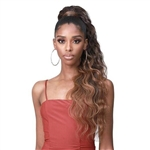 Glamourtress, wigs, weaves, braids, half wigs, full cap, hair, lace front, hair extension, nicki minaj style, Brazilian hair, crochet, hairdo, wig tape, remy hair, Lace Front Wigs, Remy Hair, Bobbi Boss Miss Origin Tress Up Ponytail - MOD022 BODY WAVE 28