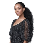 Glamourtress, wigs, weaves, braids, half wigs, full cap, hair, lace front, hair extension, nicki minaj style, Brazilian hair, crochet, hairdo, wig tape, remy hair, Lace Front Wigs, Bobbi Boss Drawstring Ponytail Speedy Updo - SPUP45 JERRY CURL