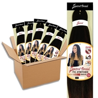 Glamourtress, wigs, weaves, braids, half wigs, full cap, hair, lace front, hair extension, nicki minaj style, Brazilian hair, crochet, hairdo, wig tape, remy hair, Lace Front Wigs, Remy Hair, BRAID BOX DEAL - Oh Yes Hair Spetra Synthetic Braid - Spetra BR