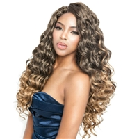 Glamourtress, wigs, weaves, braids, half wigs, full cap, hair, lace front, hair extension, nicki minaj style, Brazilian hair, crochet, hairdo, wig tape, remy hair, Lace Front Wigs, Mane Concept Afri Naptural Caribbean Crochet Braid CB1802 - OCEAN WAVE 18""