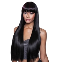 Glamourtress, wigs, weaves, braids, half wigs, full cap, hair, lace front, hair extension, nicki minaj style, Brazilian hair, crochet, hairdo, wig tape, remy hair, Mane Concept Brown Sugar Human Hair Mix Wig BS144