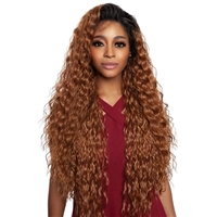 Glamourtress, wigs, weaves, braids, half wigs, full cap, hair, lace front, hair extension, nicki minaj style, Brazilian hair, crochet, hairdo, wig tape, remy hair, Mane Concept Red Carpet Synthetic Hair HD Natural Hairline Lace Wig - RCHN204 RONNI