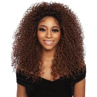 Glamourtress, wigs, weaves, braids, half wigs, full cap, hair, lace front, hair extension, nicki minaj style, Brazilian hair, crochet, hairdo, wig tape, remy hair, Mane Concept Red Carpet Synthetic Hair HD Natural Hairline Lace Wig - RCHN205 ROXIE