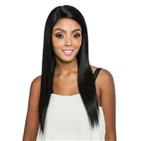 Glamourtress, wigs, weaves, braids, half wigs, full cap, hair, lace front, hair extension, nicki minaj style, Brazilian hair, crochet, hairdo, wig tape, remy hair, Mane Concept Melanin Queen 100% Human Hair Wig - MLH503 QUEEN STRAIGHT 24