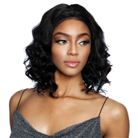 Glamourtress, wigs, weaves, braids, half wigs, full cap, hair, lace front, hair extension, nicki minaj style, Brazilian hair, crochet, hairdo, wig tape, remy hair, Mane Concept Trill 100% Brazilian 4x4 Lace Wig - TRL4404 LOOSE CURL 12~14
