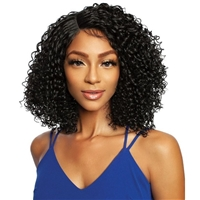 Glamourtress, wigs, weaves, braids, half wigs, full cap, hair, lace front, hair extension, nicki minaj style, Brazilian hair, crochet, hairdo, wig tape, remy hair, Lace Front Wigs, Mane Concept Synthetic Red Carpet HD Flatop Lace Front Wig RCFT202 STEPHIE