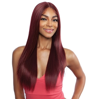 "Glamourtress, wigs, weaves, braids, half wigs, full cap, hair, lace front, hair extension, nicki minaj style, Brazilian hair, crochet, hairdo, wig tape, remy hair, Mane Concept Red Carpet HD Lace 4"" Deep Center Part Lace Front Wig - RCHD201 HARRIET"