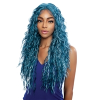 "Glamourtress, wigs, weaves, braids, half wigs, full cap, hair, lace front, hair extension, nicki minaj style, Brazilian hair, crochet, hairdo, wig tape, remy hair, Mane Concept Red Carpet HD Lace 4"" Deep Center Part Lace Front Wig - RCHD202 HEAVEN"