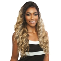Glamourtress, wigs, weaves, braids, half wigs, full cap, hair, lace front, hair extension, nicki minaj style, Brazilian hair, crochet, hairdo, wig tape, remy hair, Lace Front Wigs, Mane Concept Synthetic Red Carpet 13x7 HD Lace Front Wig - RCHL204 CORAL