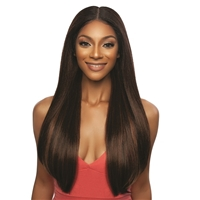 Glamourtress, wigs, weaves, braids, half wigs, full cap, hair, lace front, hair extension, nicki minaj style, Brazilian hair, crochet, hairdo, wig tape, remy hair, Lace Front Wigs, Mane Concept Synthetic Red Carpet Secret Plucked HD Lace Front Wig - RCSP2