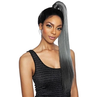 Glamourtress, wigs, weaves, braids, half wigs, full cap, hair, lace front, hair extension, nicki minaj style, Brazilian hair, crochet, hairdo, wig tape, remy hair, Mane Concept Synthetic Red Carpet Genie Pony Baby Hair Lace Front Wig - RCGP01 - KATY