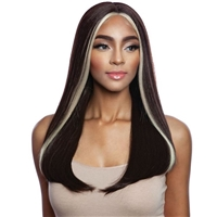 Glamourtress, wigs, weaves, braids, half wigs, full cap, hair, lace front, hair extension, nicki minaj style, Brazilian hair, crochet, hairdo, wig tape, remy hair, Mane Concept Synthetic Red Carpet Lace Front Wig - RCP7034 TRENDY GIRL 01
