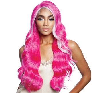 Glamourtress, wigs, weaves, braids, half wigs, full cap, hair, lace front, hair extension, nicki minaj style, Brazilian hair, crochet, hairdo, wig tape, remy hair, Mane Concept Synthetic Red Carpet Lace Front Wig - RCP7035 TRENDY GIRL 02