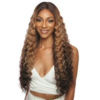 Glamourtress, wigs, weaves, braids, half wigs, full cap, hair, lace front, hair extension, nicki minaj style, Brazilian hair, crochet, hairdo, wig tape, remy hair, Lace Front Wigs, Mane Concept Synthetic Red Carpet Slick Tempo HD Lace Front Wig - RCST701