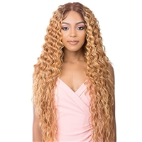 Glamourtress, wigs, weaves, braids, half wigs, full cap, hair, lace front, hair extension, nicki minaj style, Brazilian hair, crochet, hairdo, wig tape, remy hair, Lace Front Wigs, It's A Wig Synthetic HD 13X6 Lace Frontal Wig - JADE