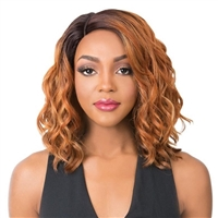 Glamourtress, wigs, weaves, braids, half wigs, full cap, hair, lace front, hair extension, nicki minaj style, Brazilian hair, crochet, hairdo, wig tape, remy hair, Lace Front Wigs, It's A Wig Synthetic Swiss Lace Front Wig - OLIGO