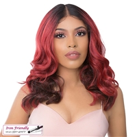 Glamourtress, wigs, weaves, braids, half wigs, full cap, hair, lace front, hair extension, nicki minaj style, Brazilian hair, crochet, hairdo, wig tape, remy hair, Lace Front Wigs, It's A Wig Synthetic HD Lace Wig - HD T LACE LUSSI