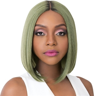 Glamourtress, wigs, weaves, braids, half wigs, full cap, hair, lace front, hair extension, nicki minaj style, Brazilian hair, crochet, hairdo, wig tape, remy hair, Lace Front Wigs, It's A Wig Synthetic Swiss Lace Front Wig - MACON