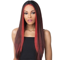 Glamourtress, wigs, weaves, braids, half wigs, full cap, hair, lace front, hair extension, nicki minaj style, Brazilian hair, crochet, hairdo, wig tape, remy hair, Lace Front Wigs, It's A Wig! Synthetic Wig - KAHLO