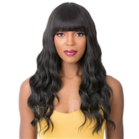 Glamourtress, wigs, weaves, braids, half wigs, full cap, hair, lace front, hair extension, nicki minaj style, Brazilian hair, crochet, hairdo, wig tape, remy hair, Lace Front Wigs, It's A Wig Synthetic Wig - Q MARIELLA