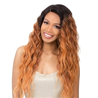 Glamourtress, wigs, weaves, braids, half wigs, full cap, hair, lace front, hair extension, nicki minaj style, Brazilian hair, crochet, hairdo, wig tape, remy hair, Lace Front Wigs, It's A Wig! Synthetic Wig - SUN DANCE