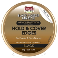 Glamourtress, wigs, weaves, braids, half wigs, full cap, hair, lace front, hair extension, nicki minaj style, Brazilian hair, crochet, hairdo, wig tape, remy hair, Lace Front Wigs, Remy Hair, African Pride Black Castor Miracle Hold & Cover Edges Black 2.2